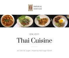 Thai Food? Why not! Let's try our tasty Thailand Food at Salt&Sugar. Have a chance to get 50% OFF while staying in Imperial Heritage Hotel  :)  #hotel #imperialheritage #melaka #malacca #malaysia #historical #thaifood #food #culinary