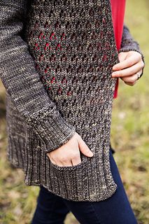 "This cardigan evolved after I had published my ""Get the Picture"" hat featuring the same stitch, resulting in a lot of inquiries for sweaters from…"