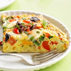 Veggie Frittata and more egg recipes!