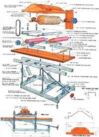 Woodworking Equipment - How to build a surface sander that is every bit as smooth on your budget as your board, including a detailed diagram and building instructions. Woodworking Courses, Essential Woodworking Tools, Antique Woodworking Tools, Woodworking Equipment, Intarsia Woodworking, Woodworking For Kids, Woodworking Toys, Beginner Woodworking Projects, Woodworking Patterns