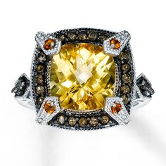 Beautiful citrine ring