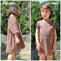 How to make girls indian costume in few minutes all you need is come fare un costume da indiana solutioingenieria Gallery