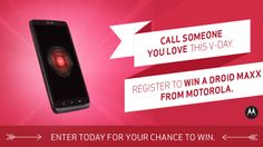 Our client Verizon (and Motorola) is giving away a DROID Maxx! Enter for a chance to win! #FitFluential #FFTech