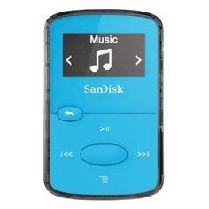 SanDisk Sansa Clip JAM 8 GB jasně modrý, cena 989,- kč