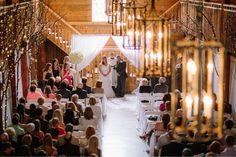 #kfb_events #rentals #prattplaceweddings #goldsequin #navyandgold #barnwedding | white wood folding chairs |