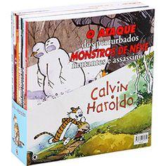 Box Calvin e Haroldo com 7 Volumes