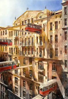 Tytus Brzozowski, Nowogrodzka street, Lumarte Art Online