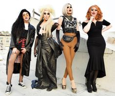 Adore Delano, Alaska Thunderfuck, Sharon Needles and Jinkx Monsoon: PEG Records Artist Showcase by Rodin Eckenroth