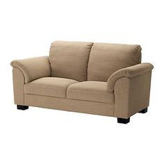 I love this loveseat.  It's comfortable and looks nice. TIDAFORS Loveseat - Edsken beige - IKEA