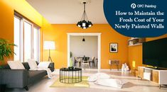 How to Maintain the Fresh Coat of Your Newly Painted Walls Interior Walls, House Painting, The Fresh, Painters, Home Decor, Decoration Home, Room Decor, Home Interior Design, Home Decoration