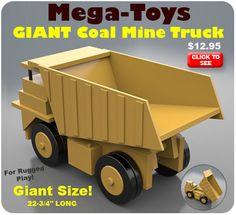 Mega-Toys GIANT Coal Mine Truck