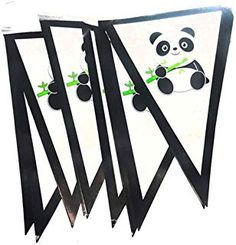 Online shopping from a great selection at Arts, Crafts & Sewing Store. Paper Bunting, Bunting Banner, Paper Chains, Sewing Stores, Panda Bear, Baby Shower Decorations, Garland, Sewing Crafts, Birthday Parties