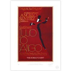 'Two To Tango' Broadway Poster - MinaLima Store