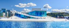 The opera house in Oslo, Norway, one of the most beautiful buildings I've ever seen