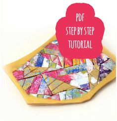 PDF tutorial / Colourful colagge on polymer clay