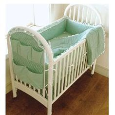 Kwik Sew Crib Comforter, Skirt, Fitted Sheet, Bumper Pad & Diaper Stacker…