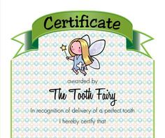There are some milestones that just have to be marked. And losing baby teeth is one of them. Check out our Dental Achievement Certificate ;) - See more at: http://www.mykidstime.ie/dental-achievement-certificate/#sthash.wdi7z3ED.dpuf