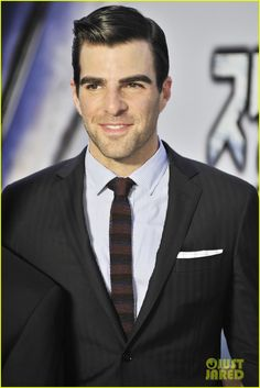 Great picture of  Zachary Quinto: 'Star Trek Into Darkness' Japan Premiere
