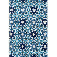 The Rug Market Mosaic Rug, 8' x 10', Blue