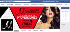 Portada para red social Facebook , sala de belleza Montserrat Honduras. #arte #diseño #fotografia #marketing #social #HeizelArtz #photoshop #ilustrador