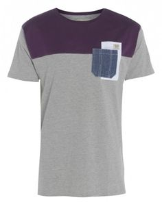 Jack South - Block Tee #menswear #brands http://www.londonfashionnetwork.com/c/19/1222/brand-to-watch-jack-south-clothing/