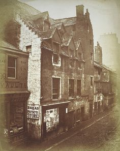 The Cowgate, Edinburgh, 1871 by National Galleries of Scotland via Flickr