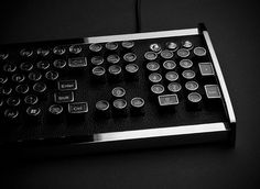 CEO Collective - Limited edition keyboard with old fashion typewriter styled keys...