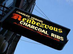 Memphis classic BarBQ restaurant. Ribs and BBQ nachos yum