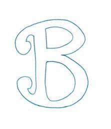 Letra Decorativa Para Carteleras