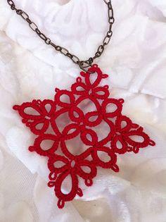 pretty red lace