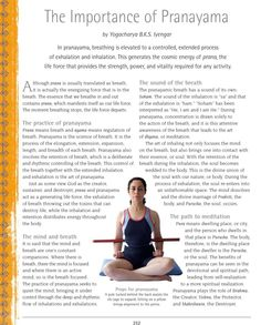 #ClippedOnIssuu from B K S Iyengar the Path to Holistic Health clip 1