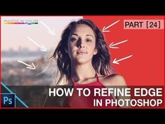 Photoshop tutorial - Photoshop Refine Edge Tutorial For Beginners - YouTube