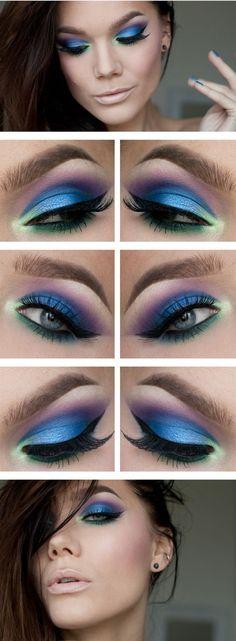 Kolorowy makijaż oczu - jak go zrobić modnie i z wyczuciem? Zobacz 20 najlepszych inspiracji - Strona 9