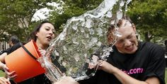 Remember when pretty much everyone was having buckets of ice cold water thrown over their heads in the name of charity? The ALS Ice Bucket Challenge h. Stephen Hawking, Internet Trends, People Videos, Hard Truth, Donate To Charity, Lots Of Money, World Of Warcraft, Along The Way, How To Raise Money
