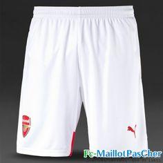 Boutique Nouveau Short foot Arsenal Domicile 15 2016 2017 pas cher