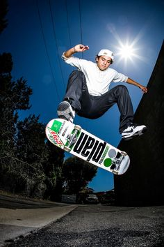 How I Got the Shot: Skateboarder Paul Rodriguez shines like the sun | GrindTV.com