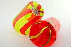 "Handmade Murano Glass Blown Drinking Glasses ""VASO HANDI"" (€65 each) Murano Glass, Boats, Drinking, Glasses, Unique Jewelry, Handmade Gifts, Etsy, Vintage, Eyewear"