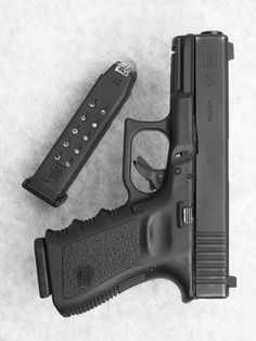 The Glock 23 introduces revolutionary design changes to the pistol with compact dimensions for both open and concealed carry and minimum weight . Fire Powers, Cool Guns, Guns And Ammo, Browning, Tactical Gear, Tactical Survival, Shotgun, Firearms, Hand Guns