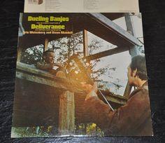Dueling Banjos Original Sound Track of the Movie Deliverance Vinyl LP