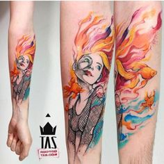 152.6k Followers, 67 Following, 2,240 Posts - See Instagram photos and videos from Tattoo Artists - Link For Ink (@thinkbeforeuink) Time Tattoos, New Tattoos, Body Art Tattoos, Tatoos, Neil Gaiman, Sandman Tattoo, Tattoos Lindas, Tattoo Addiction, Dot Work Tattoo