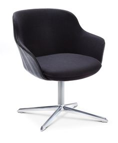 Chair with fixed 4 star base