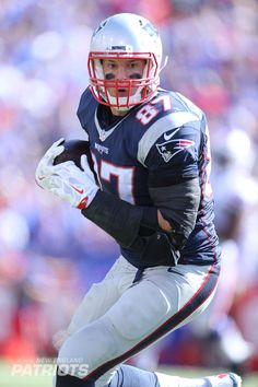 Check out our favorite photos of Patriots TE Rob Gronkowski from the 2015 season.