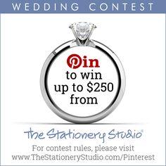 The Stationery Studio Wedding 2016 Contest