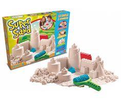 Super leuk spul! Heel zacht zand en blijft makkelijk in vorm als je er mee bouwt!