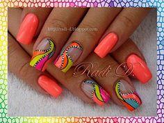 nail art | Los colores Fengda para uñas están fabricados esp… | Flickr