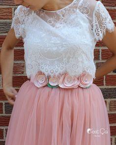 Andrea Floral Jeweled Bridal Sash (assorted colors)