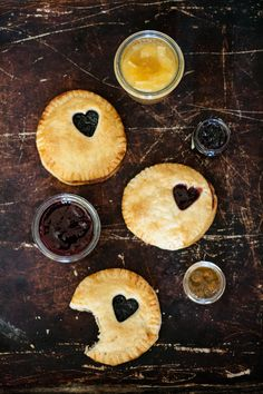 Jam hand pies  The pie crust recipe and tips are really worth checking out!