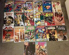 Superman, X-Men series, Maxx, Various comics - Lot of 20 - Modern Age NM