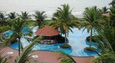 Pool at Radisson Temple Bay, Tamil Nadu, India