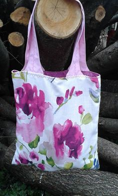 lienka97 / Nákupná taška s ružovými uškami
